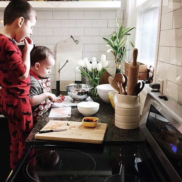 #brothers  Thanks for the wonderful photo @bluebirdkisses , looks like you've got some great sous-chefs