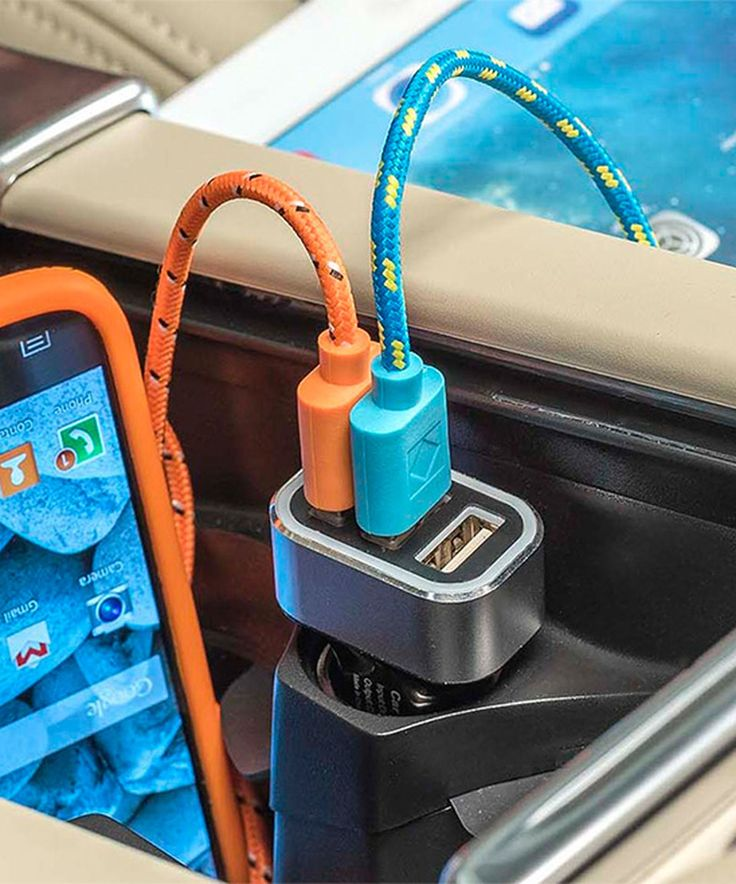 This Five Amp Triple USB Car Charger by High Road is perfect! #zulilyfinds