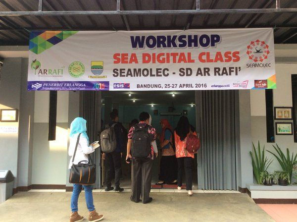 Workshop SEA Digital Class SEAMOLEC SD Ar Rafi'