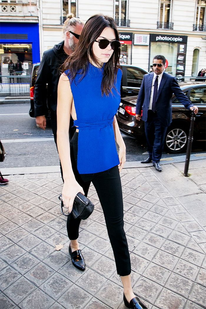 Kendall Jenner Makes a Serious Case for a Tunic for Fall via @WhoWhatWear