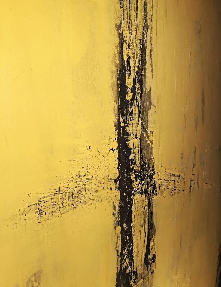 Textured Yellow/Black #art #yellow #black #abstract