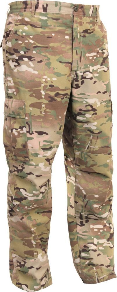 MultiCam Tactical BDU Pants Ripstop 16db140d5c4