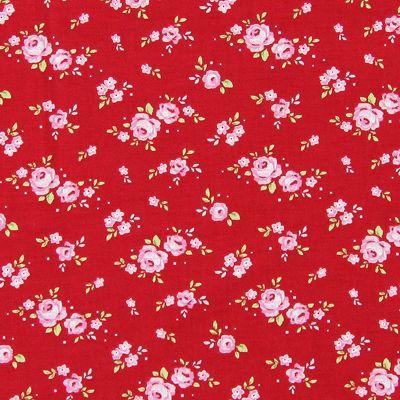Tilda Mini Rose 1 - Baumwollstoffe Blumen - Baumwollstoffe