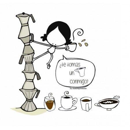 Qué, ¿te tomas uno conmigo? (o dos...) Eeeegunon mundo!! (o tres... o cuatro) ::: hartuko al duzu bat nirekin? Hartuko al dugu tartea elkarrekin? Just a coffee? Just  with me?