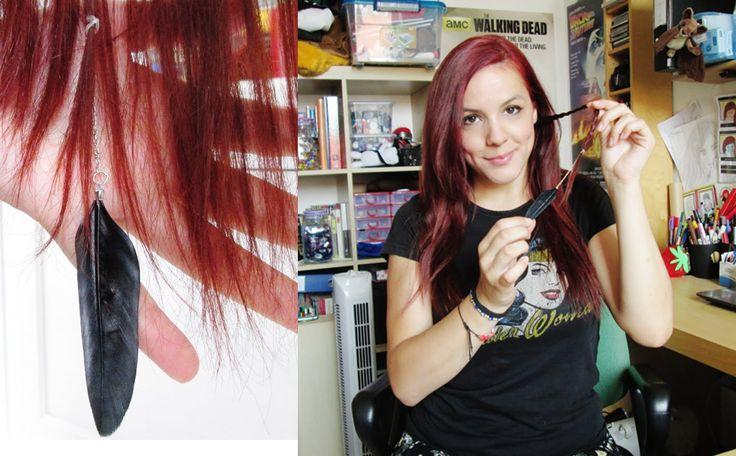 #tutorial #videotutorial #hairstyle #style #redhair #capellirossi #tutorialcapelli #videocapelli #treccineconpiume #piume #diy #tutorialtreccia #treccina