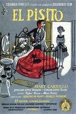 1959. El pisito dirigida por Marco Ferreri e Isidoro M. Ferry y  basada en la novela homónima de Rafael Azcona