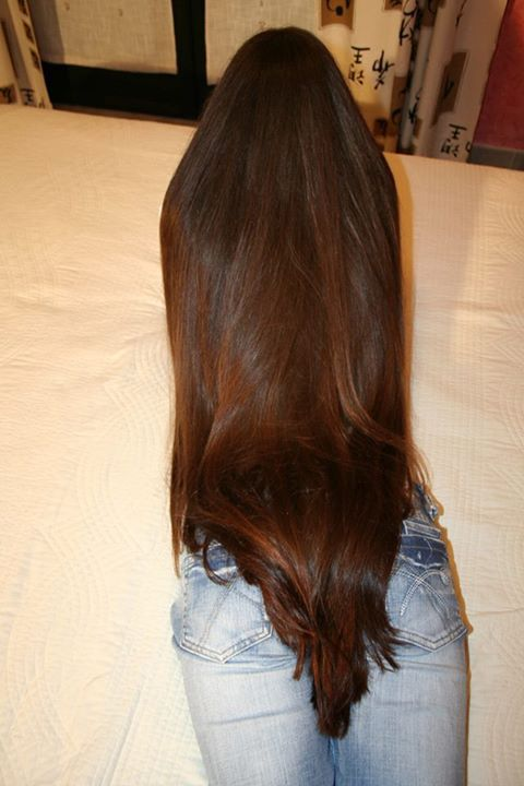 #Hairgoals! YES TO THE LENGTH!!! Totally looks healthy too!