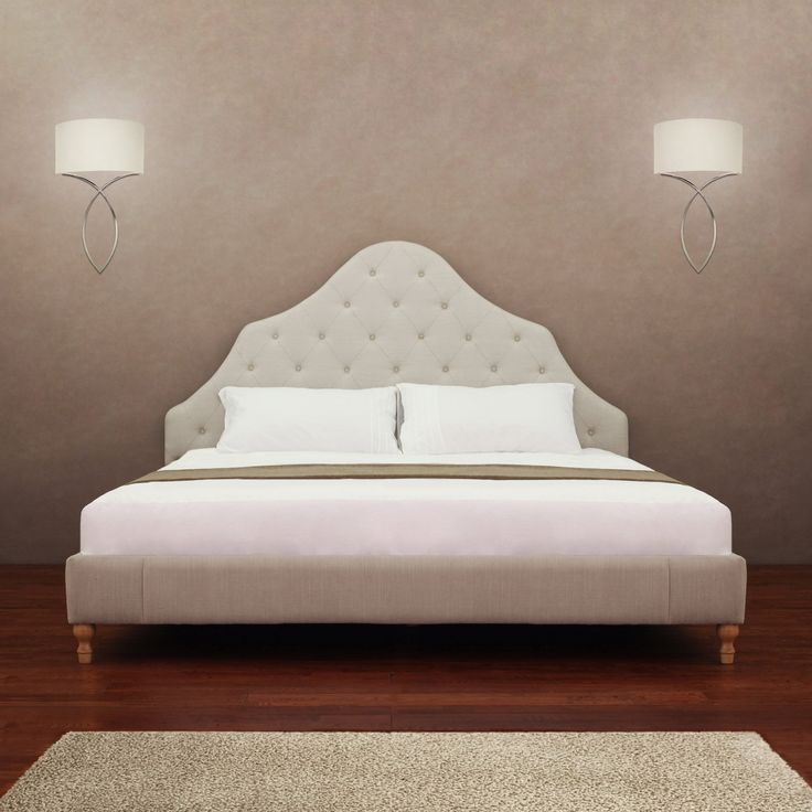 Alice Button Tufted King Size Bed