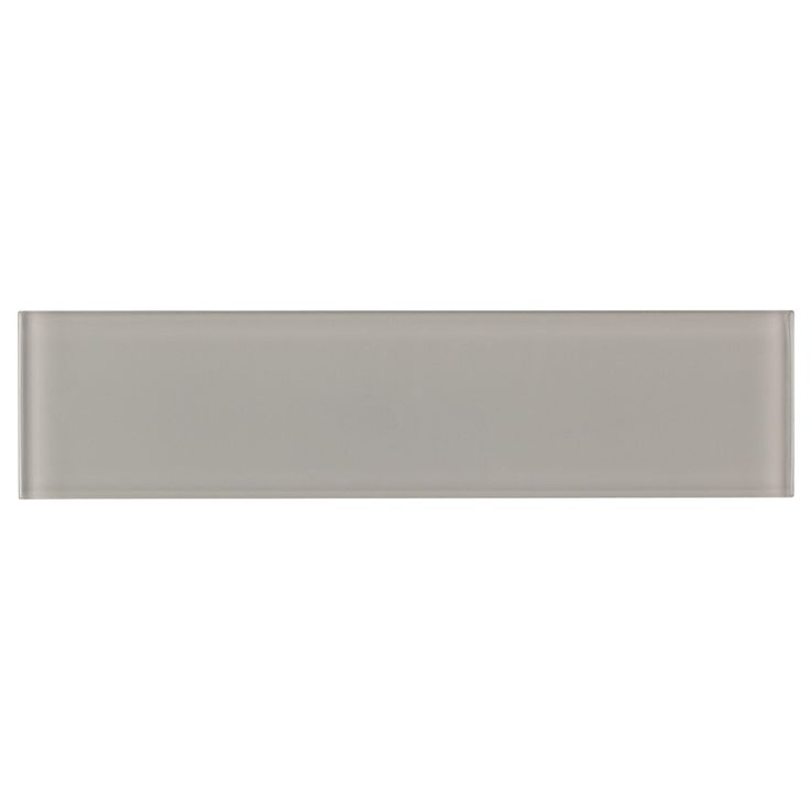 Mineral Tiles - Glass Subway Tile French Gray 3x12, $10.99 (http://www.mineraltiles.com/glass-subway-tile-french-gray-3x12/)