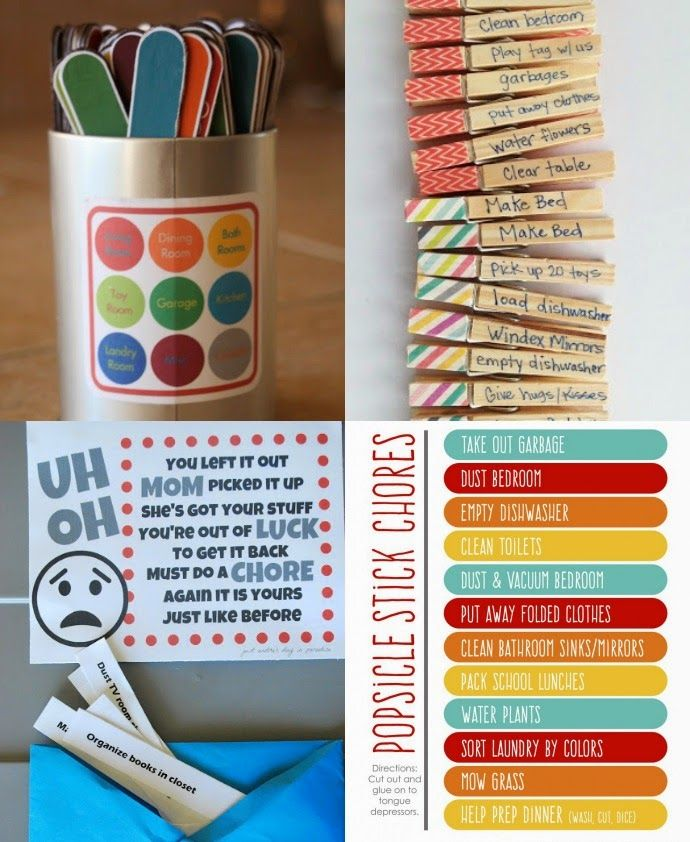 chore charts and pocket money for kids - ideas from families that work.