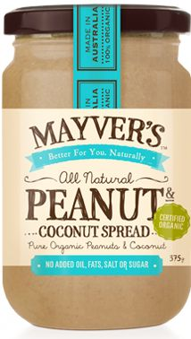 Organic Peanut & Coconut | Mayvers - For forty years I haven't liked peanut butter, but THIS is amazing!!!!
