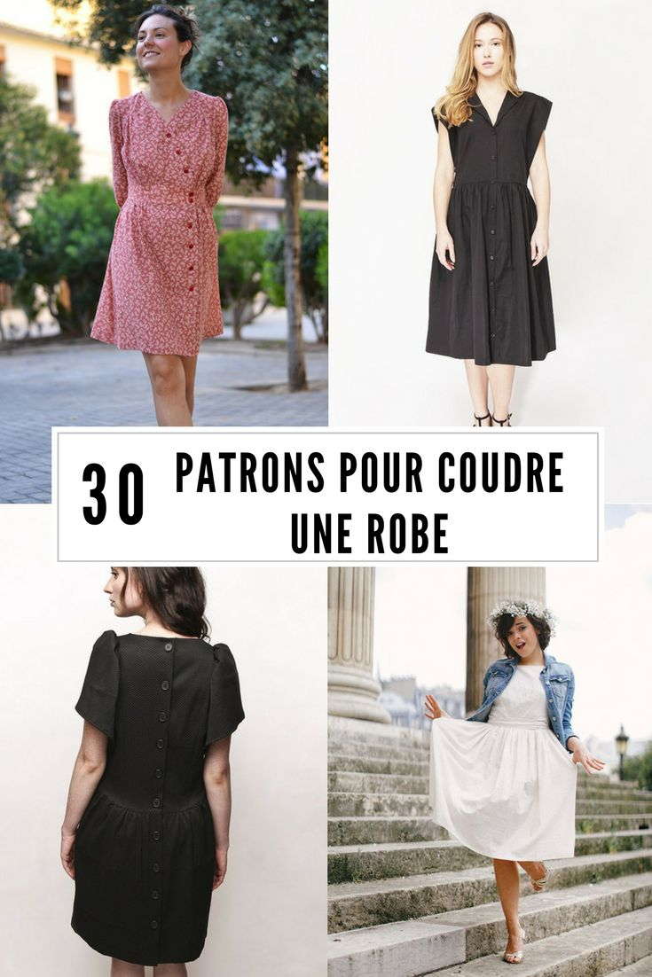 30 patrons pour coudre une robe / DIY robe / comment coudre une robe / dress sewing patterns