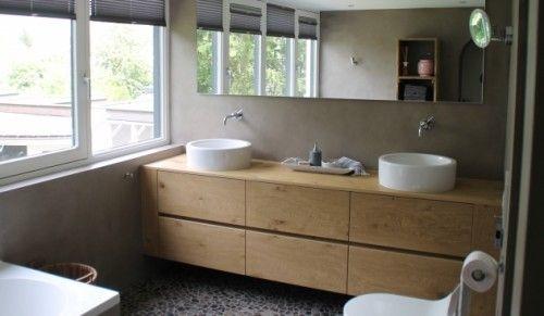 Een trend in badkamers, betonlook! In dit artikel lees je meer over deze nieuwe trend.