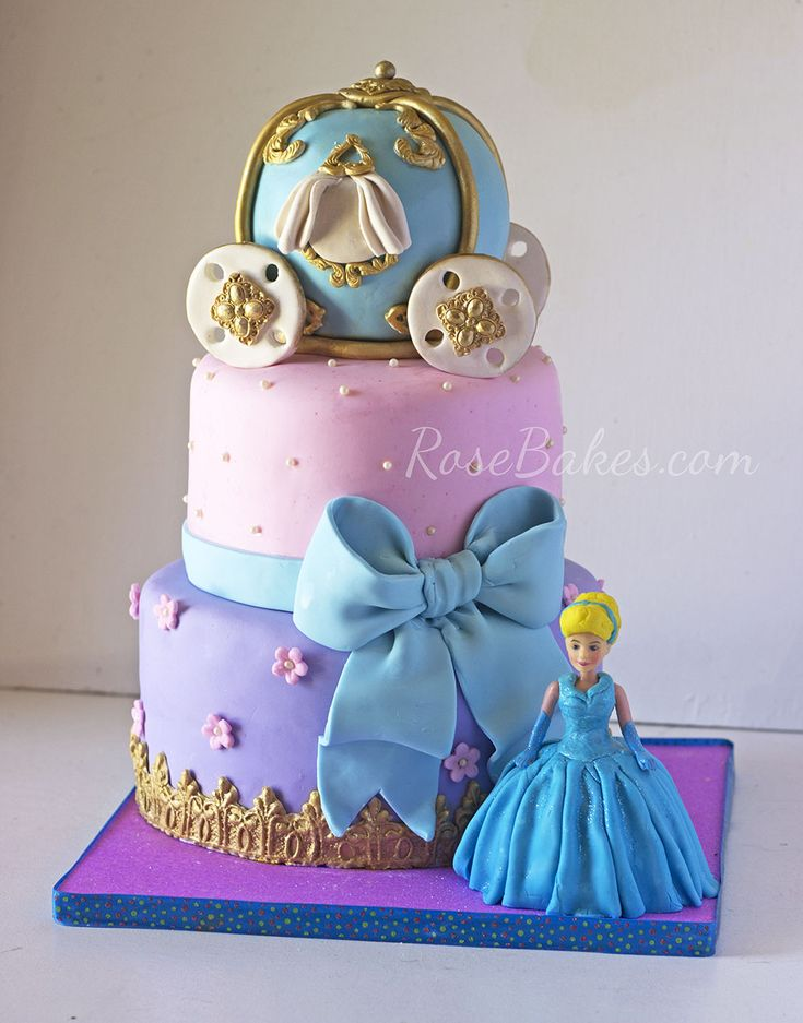 228 Best Disneys Cinderella Cakes Images On Pinterest