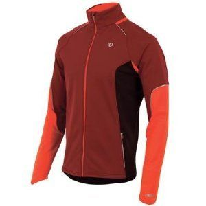 Pearl Izumi Men's Infinity Windblocking Jacket Sangria Large. Reflective piping and reflective elements for low-light visibility. Two hand pockets and one rear pocket. The Infinity Windblocking Jacket combines a wind and water resistant thermal fleece with a thermal fleece to deliver the athletic warmth and comfort needed for changing weather conditions. Full length internal draft flap with zipper garage seals in warmth. Elite Thermal Fleece fabric with wind and water resistance by...