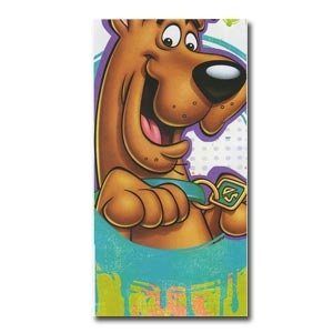 Scooby Doo Plastic Tablecover