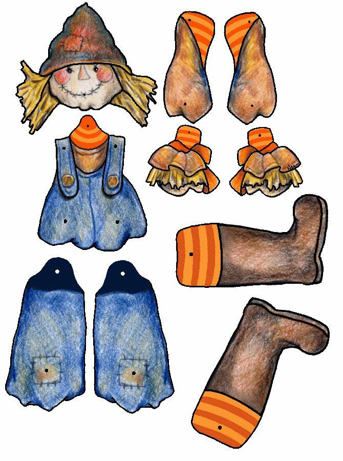 Scarecrow Puppet