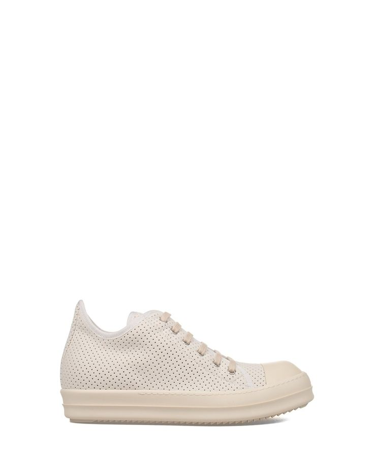 RICK OWENS Rick Owens Men'S  White Polyamide Sneakers'. #rickowens #shoes #sneakers