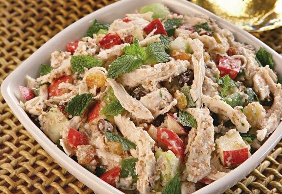 Receitas Rápidas e Fáceis: Receita de Salada Marroquina
