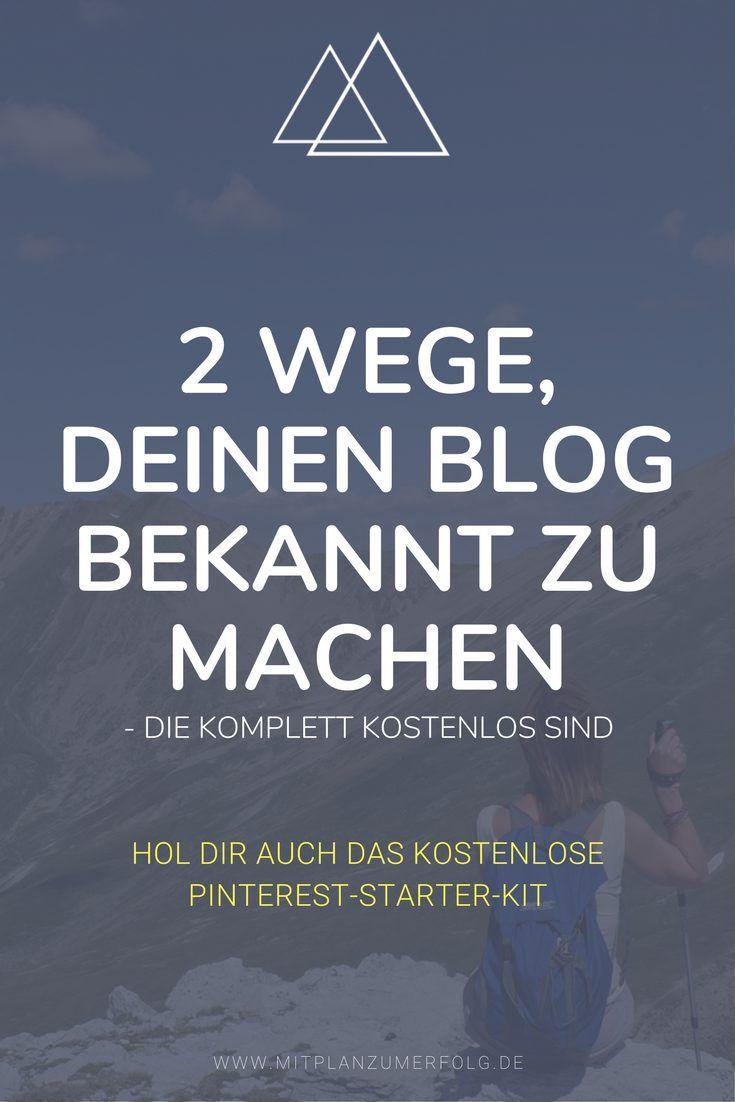 Klicke hier und lerne, wie Du Deinen Blog am einfachsten bekannt machst und mit Hilfe der großen Suchmaschinen die richtigen Besucher auf Deine Inhalte aufmerksam machst.