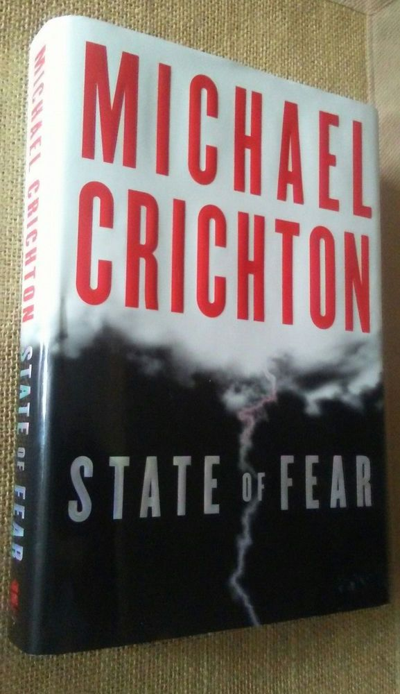 State of Fear by Michael Crichton (1st Ed., Deckled Edge, 2004, Hardcover)