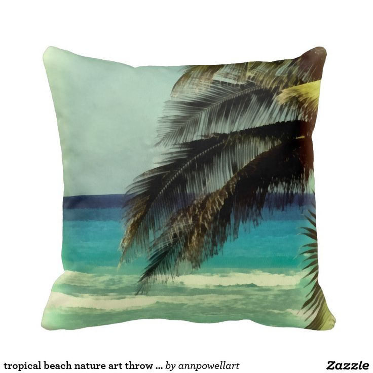 17 Best images about Tropical Pillow Covers And Beach Decor on Pinterest Starfish, Coral ...
