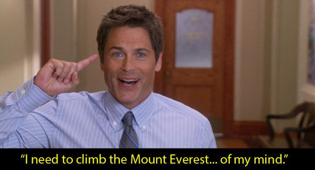 Parks and Recreation: When Chris Traeger decides to see a therapist to treat his depression. | 16 TV Moments That Helped People Through Their Depression