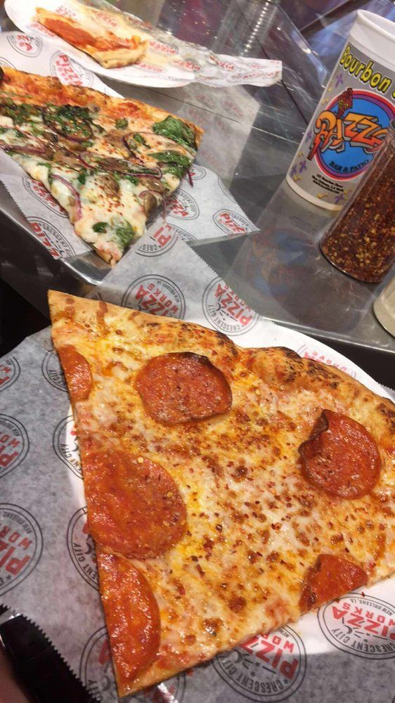 Crescent City Pizza Works - Pizza Restaurants - Stop by this fun place for a bite in between drinks with cheap pizza prices that cooked fresh in Crescent City Pizza Works