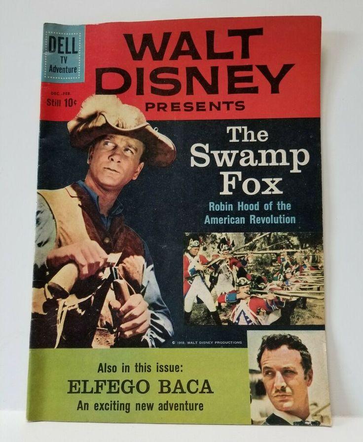 Leslie Nielsen Swamp Fox (With images) Disney presents