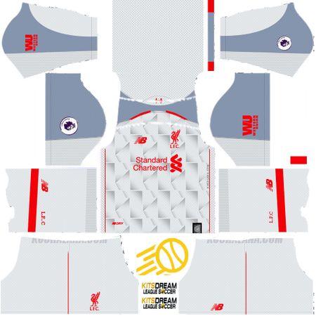 uniformes liverpool dream league soccer | Kits Liverpool