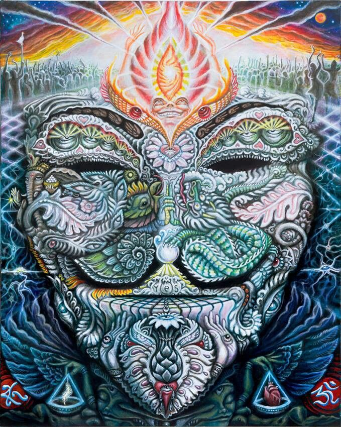 All Seeing EYE ~ psychedelic, hippie art, revolution OBEY ...