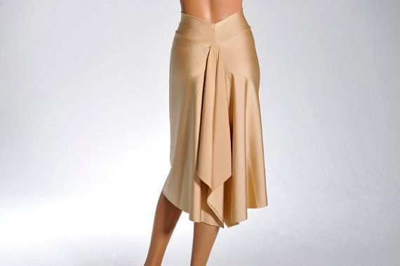 Golden tailed Tango skirt by ColeccionBerlin on Etsy