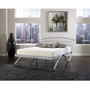 premier stockholm metal platform bed frame full