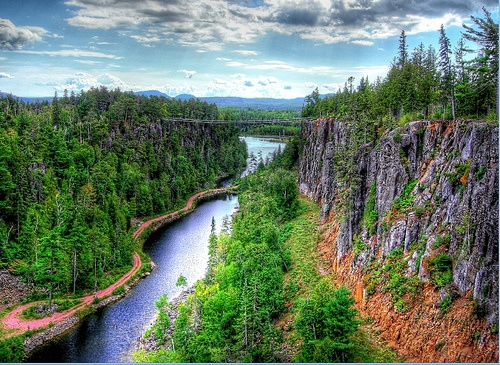 Eagle Canyon. Thunder Bay, Ontario, Canada.