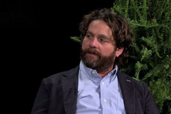 """""""I have a lot of growing up to do. I realized that the other day inside my fort."""" – Zach Galifianakis"""