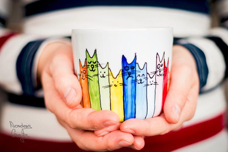 A personal favourite from my Etsy shop https://www.etsy.com/no-en/listing/571851951/coffee-mug-handpainted-tea-mug-christmas