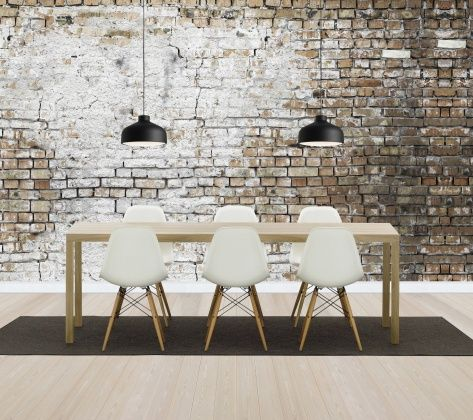 Aged Brickwall - Wall Mural & Photo Wallpaper - Photowall