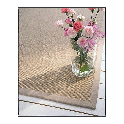 egeby teppich flach gewebt ikea besonders robust gefertigt aus sisal einer naturfaser aus. Black Bedroom Furniture Sets. Home Design Ideas