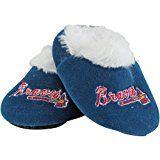 Atlanta Braves Baby Slippers