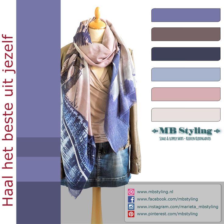 Heerlijke katoenen sjaal van het deense merk Becksondergaard. Nu draag je hem binnen maar zodra de zon zich laat zien, combineer je deze sjaal met een vest of kek jasje.  Laat het voorjaar maar komen! Bestel op: