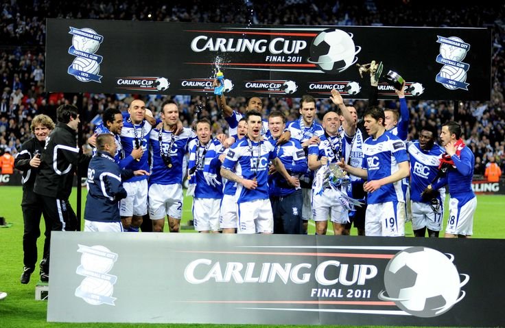 Birmingham City FC win Carling Cup 2011