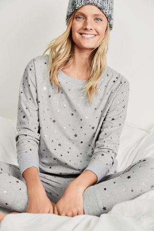 aa4473834a Buy Grey Star Cosy Pyjamas from the Next UK online shop
