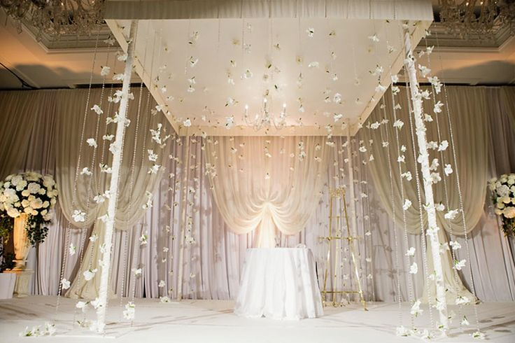 These Indoor Ceremony Backdrops Will Make You Pray For: 90 Best Images About White Uplighting On Pinterest