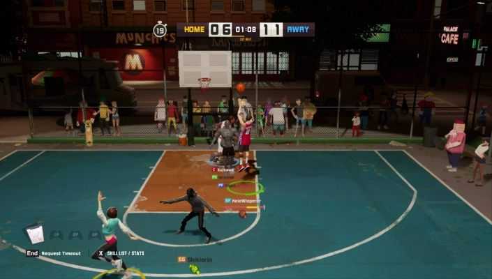3on3 FreeStyle is a F2P Sport Street Basketball Multiplayer Game featuring unique characters online and co-op multiplayer modes and straightforward controls