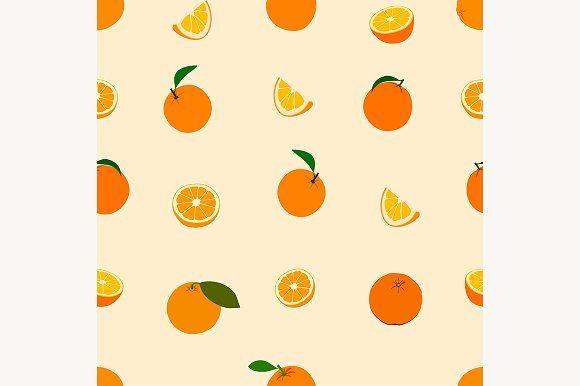 Orange Pattern Orange Pattern Pattern Wallpaper Seamless
