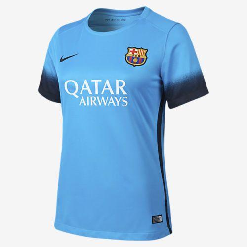 NIKE FC BARCELONA WOMENS NIGHT RISING THIRD JERSEY 2015/16