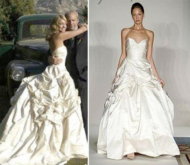 25+ Best Ideas About Celebrity Wedding Gowns On Pinterest