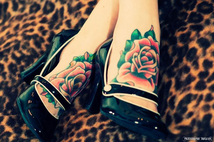 Very cute tattoos. Would hurt like hell though I'm sure!