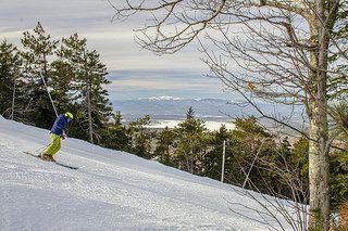 Shawnee Peak, January 14, 2015   Come visit the Mt. Washington Valley, NH for premier New England Skiing! http://www.mtwashingtonvalley.org/maine/recreation/shawnee-peak.cfm?SectionID=10  Photo: Dan Houde/Wiseguy Creative