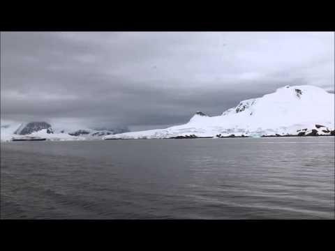 Zodiac return to ship in Wilhelmina Bay Antarctica